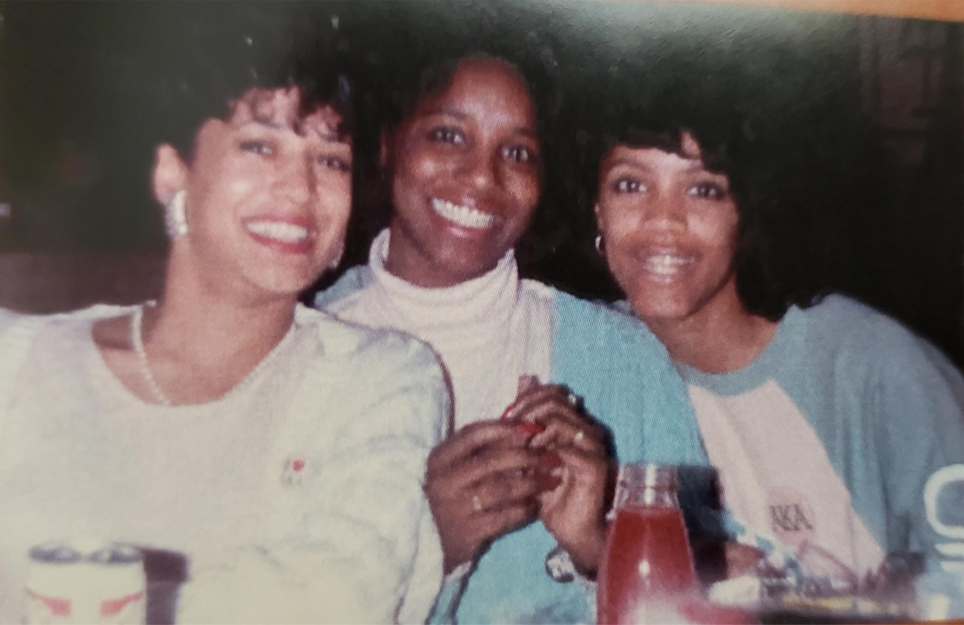 Kamala Harris with who of her sorority sisters.