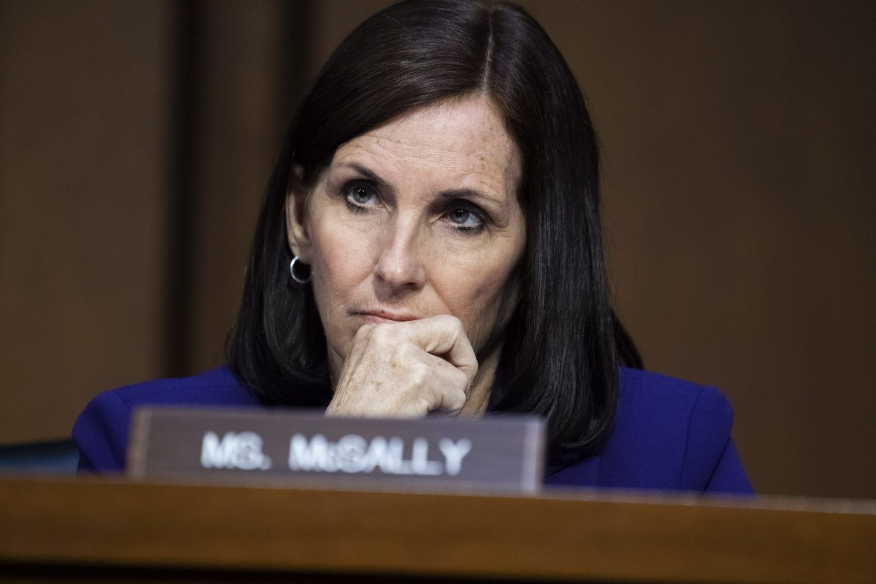 Arizona Sen. Martha McSally at a hearing