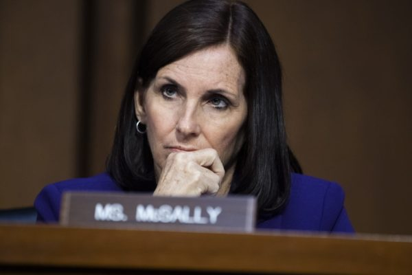 Arizona Sen. Martha McSally at a hearing