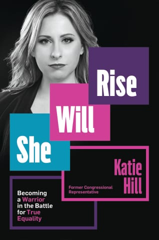"""In her new book, """"She Will Rise,"""" Hill writes that her ex psychologically tormented her for 15 years, monitoring her every move, constantly belittling her and threatening to destroy her political career if she left him."""