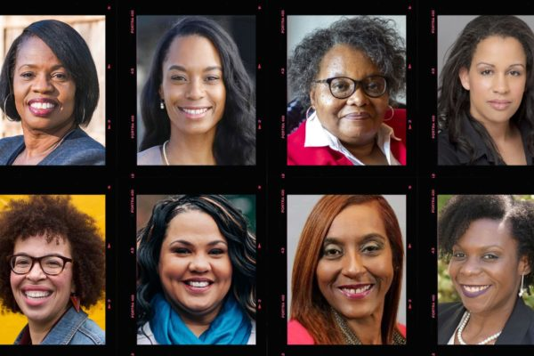 A photo composite of eight Black women running for statehouse positions in Washington.