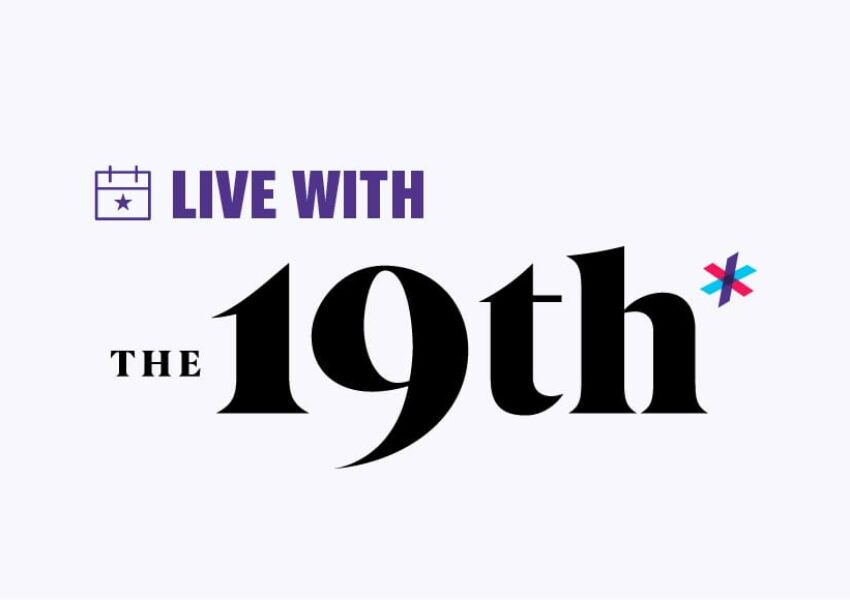 Live with The 19th logo