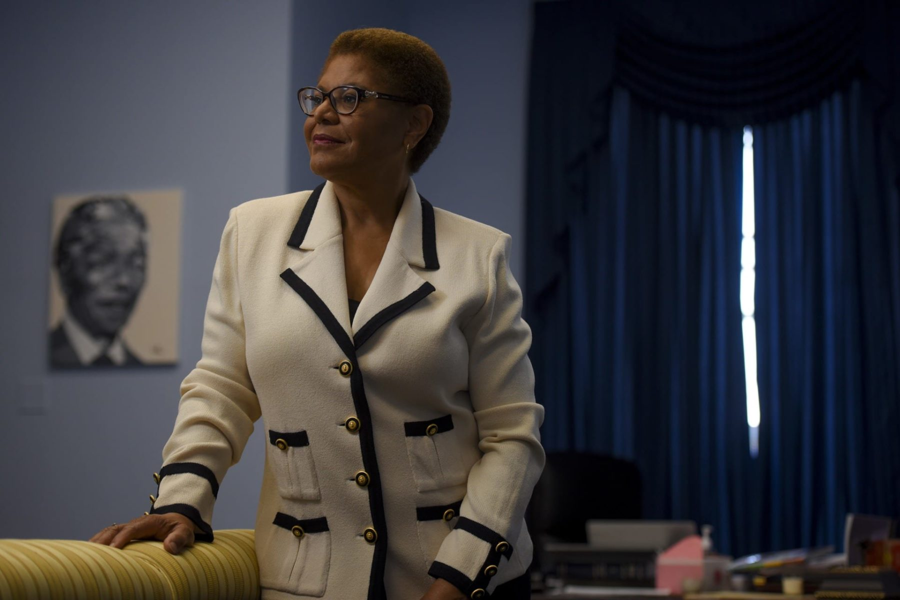 Karen Bass Addresses The Question Of Filling Kamala Harris Senate Seat
