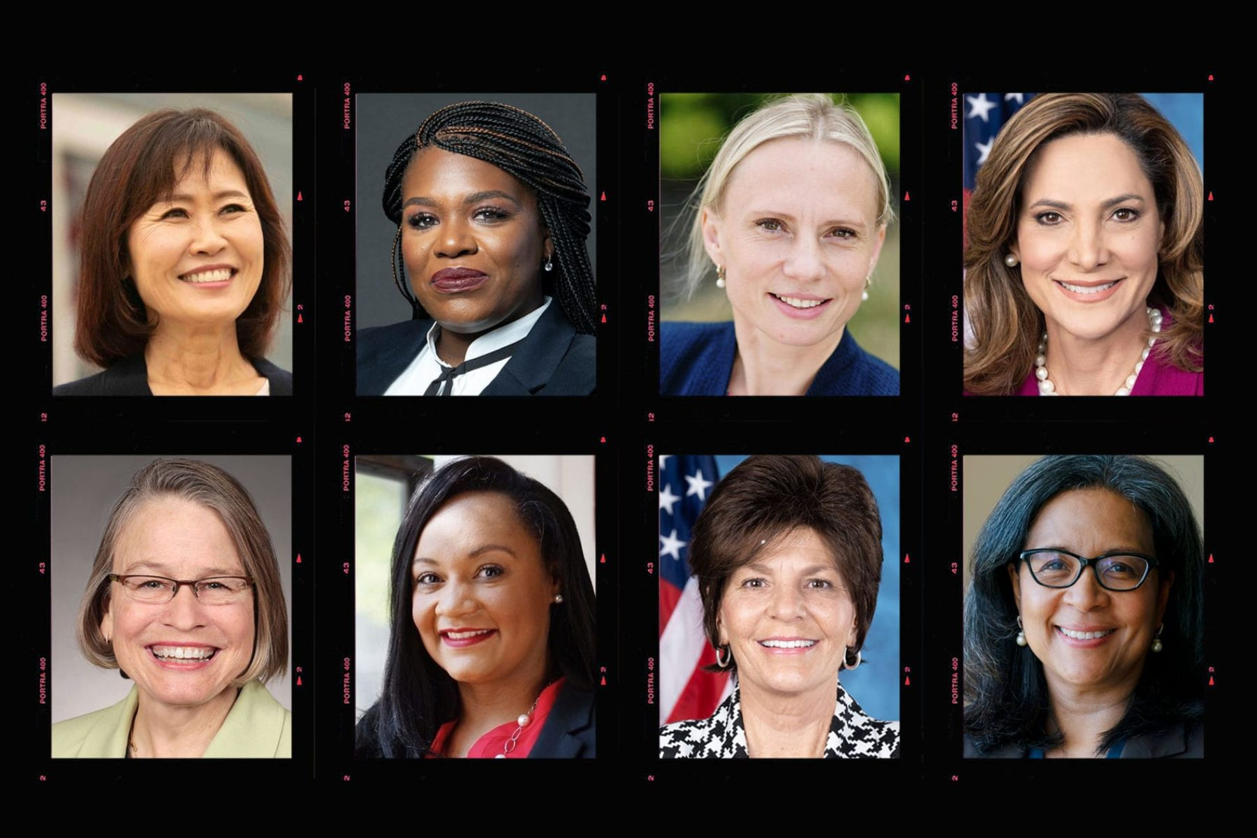 A photo composite of some of the new faces in the House of Representatives.