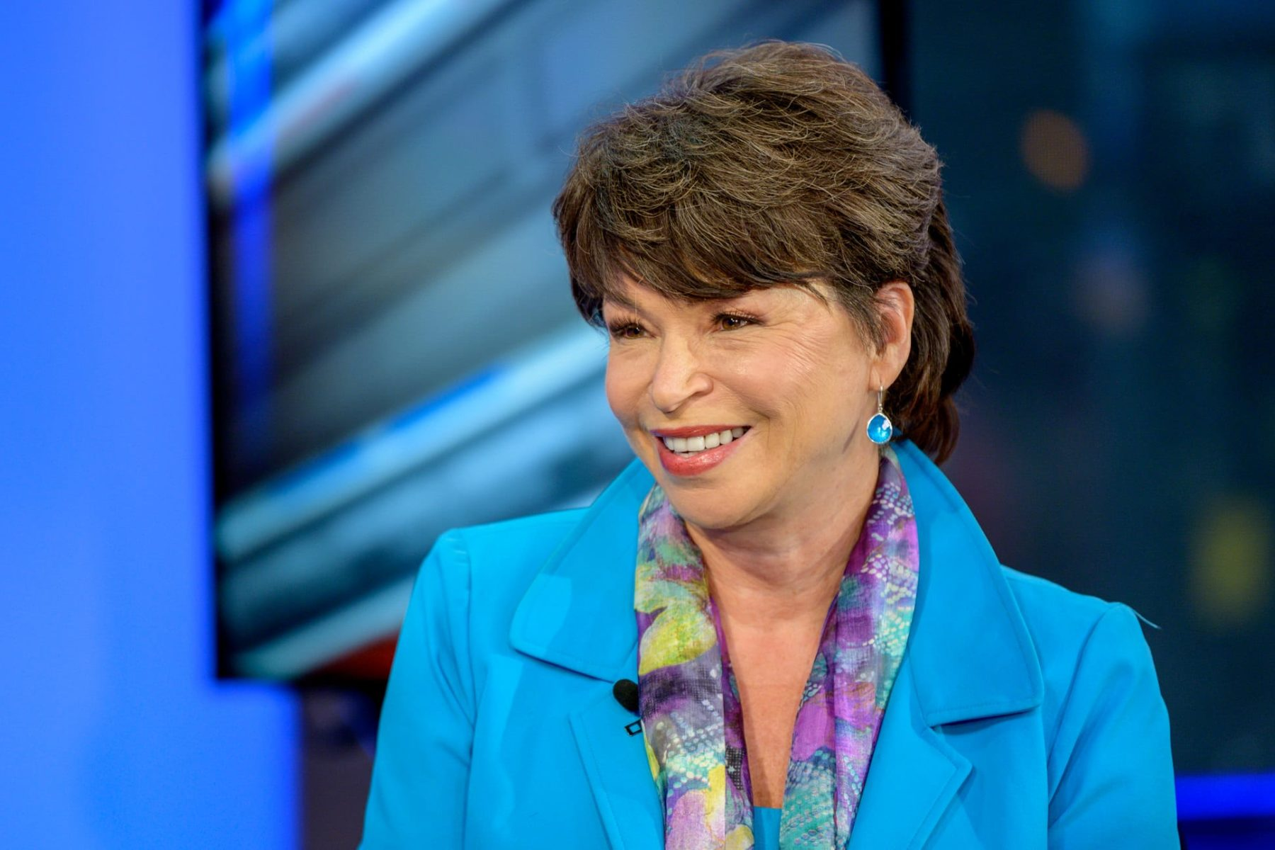 NEW YORK, NEW YORK - JUNE 13: Former Senior Advisor to the Barack Obama White House Valerie Jarrett visits