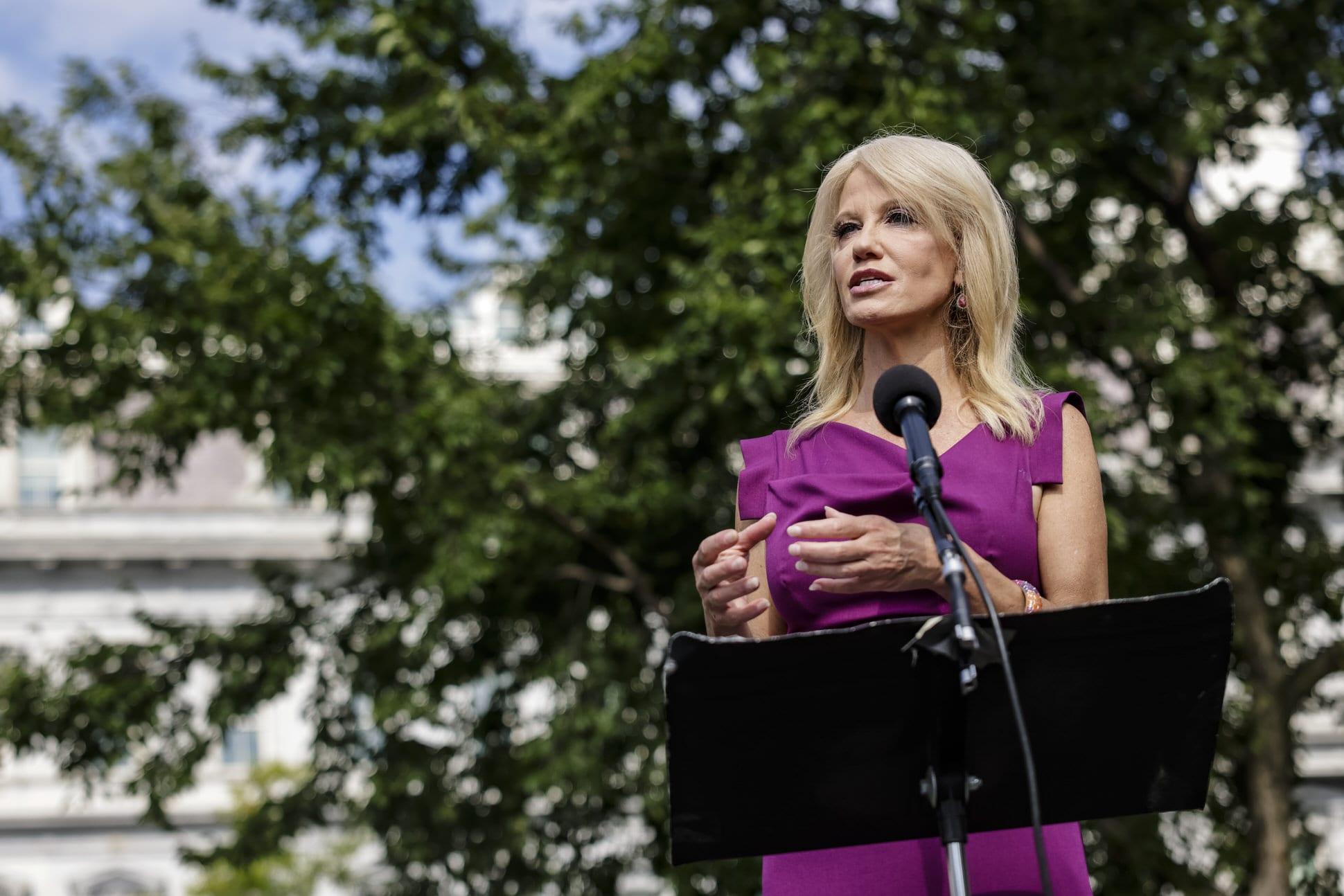 Kellyanne Conway acknowledges 'it looks like Joe Biden and Kamala Harris will prevail'