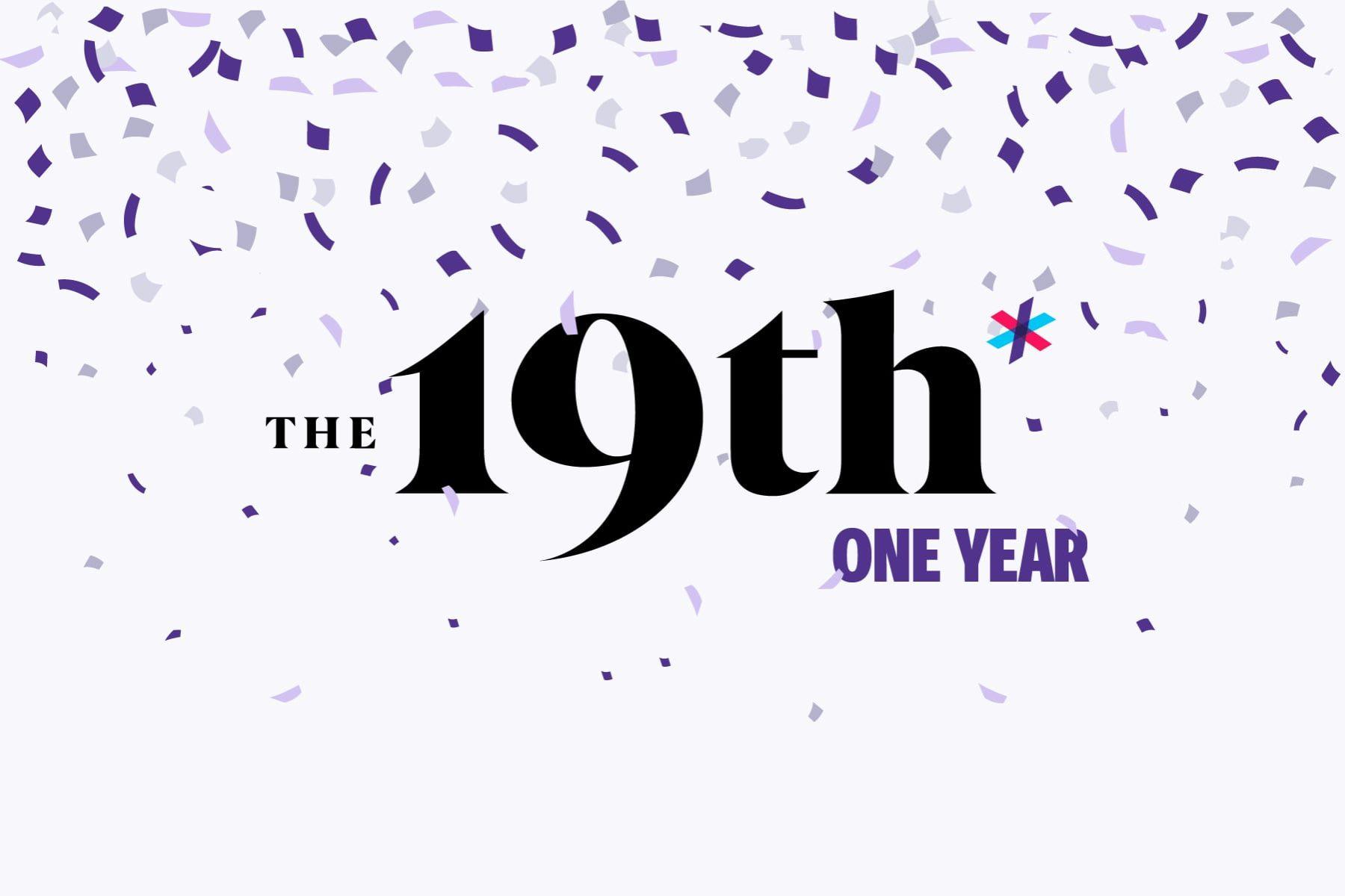 19th Anniversary logo