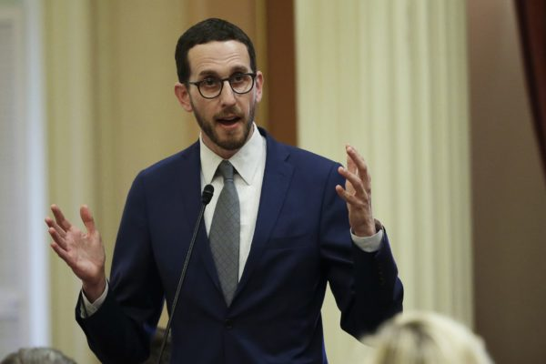 A photo of Scott Wiener.