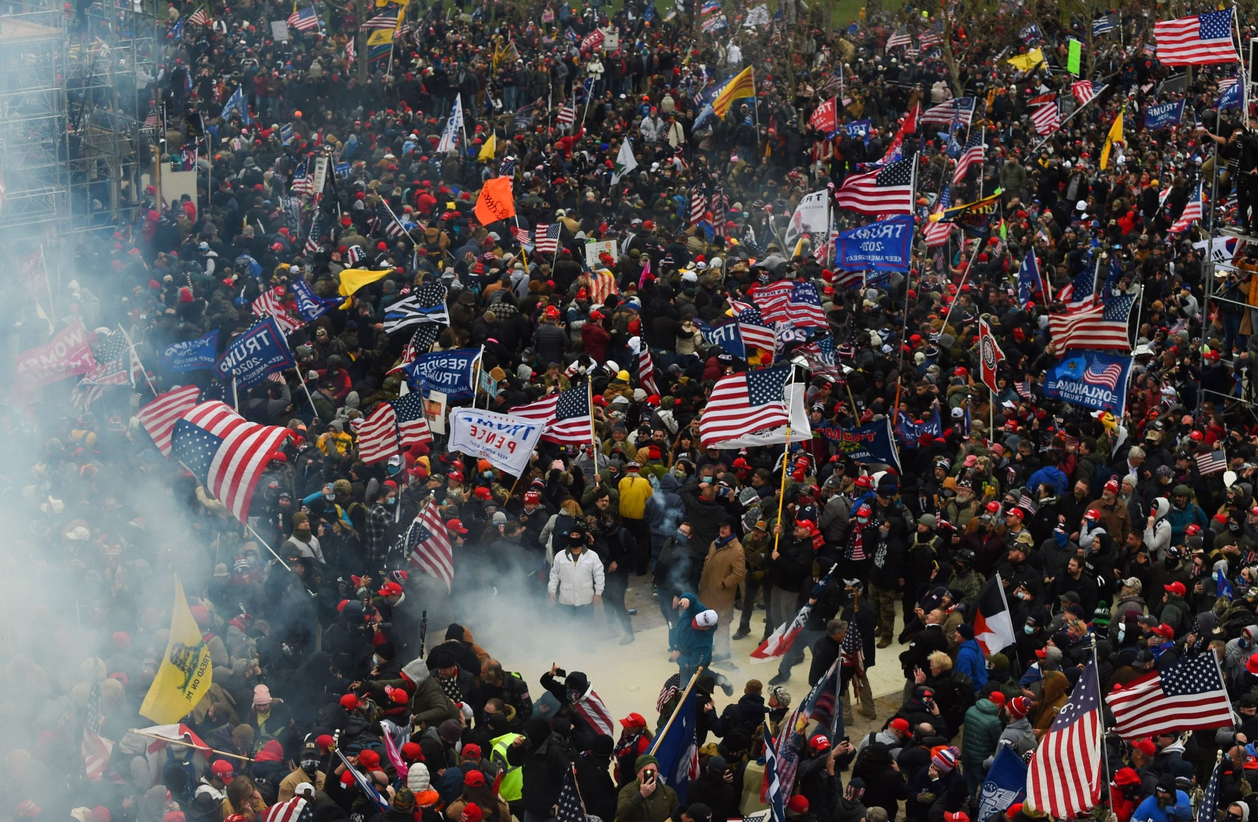 Trump supporters breeched security and entered the Capitol as Congress debated the a 2020 presidential election certification process.