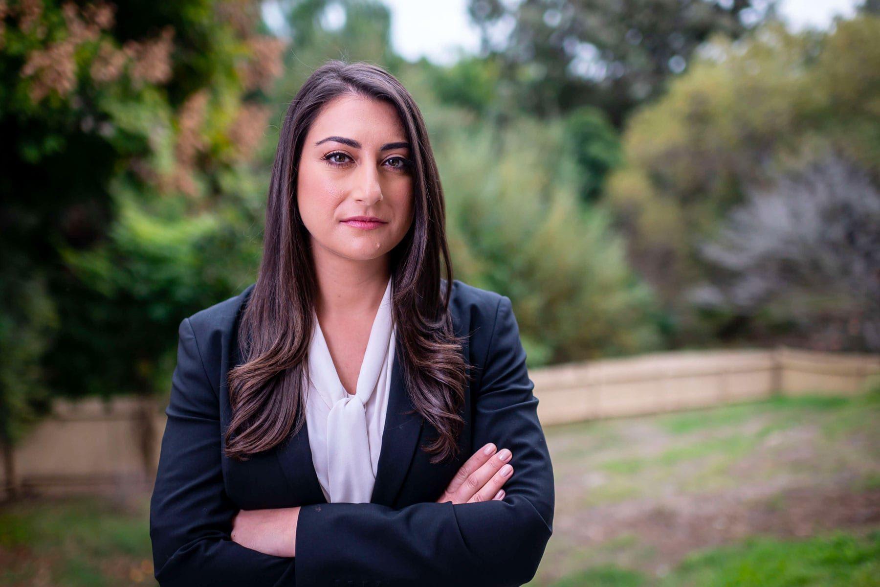 An image of Congresswoman Sara Jacobs.