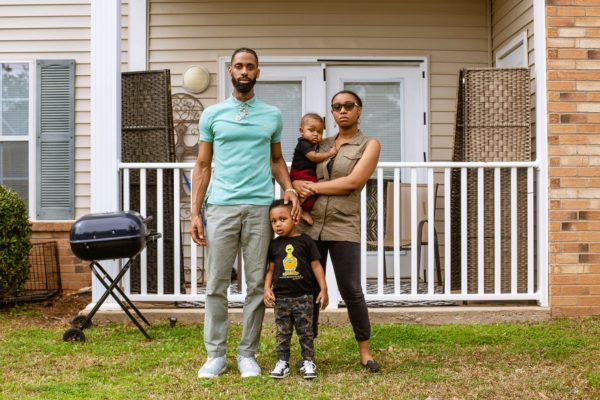 Amira Carson-Carey and her family.