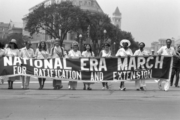 A march in D.C. for the ERA in 1978.