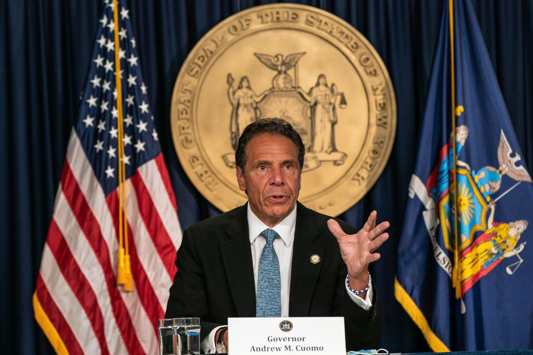 Andrew Cuomo press briefing