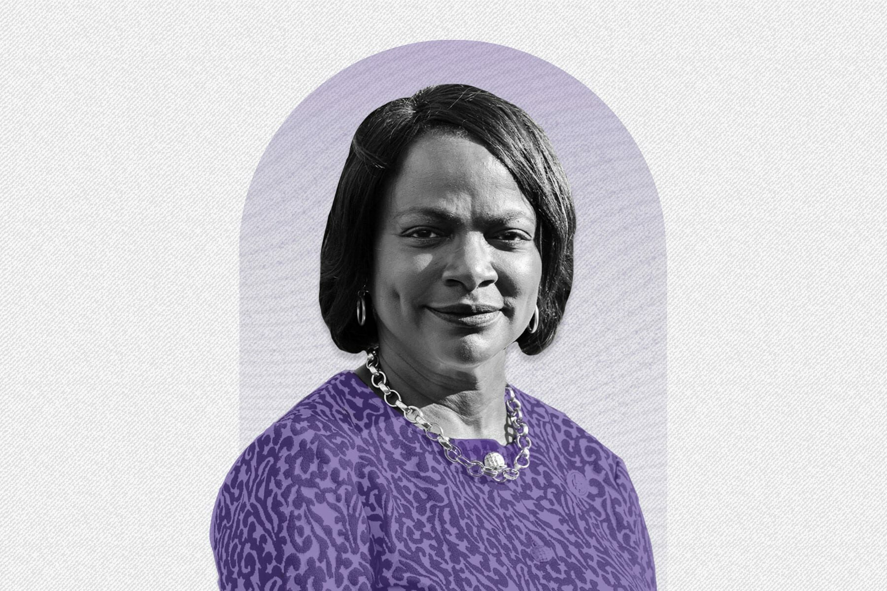 A 19th portrait of Val Demings.