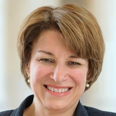 U.S. Senator, Amy Klobuchar, D-Minnesota