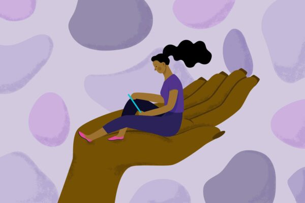 Black Women and Mental Health Illustration