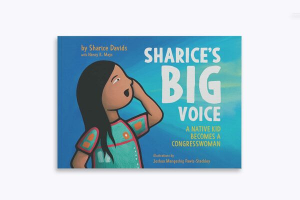 An image of Rep. Sharice David's Children's Book