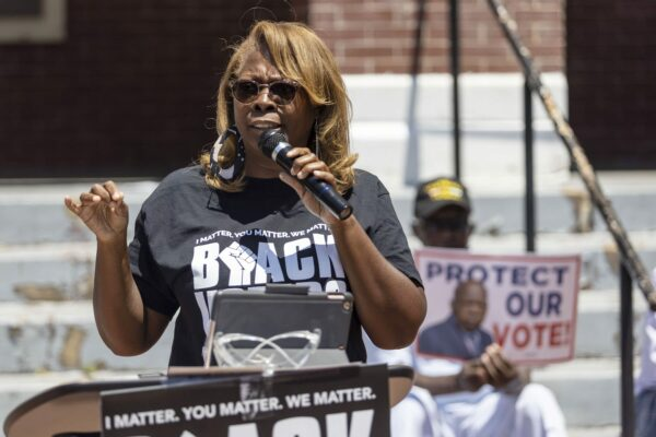 LaTosha Brown is the founder of Black Voters Matter