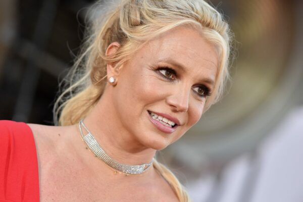 A close up of Britney Spears.