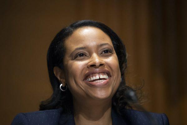 Chiquita Brooks-LaSure testifies before the Senate Finance Committee.