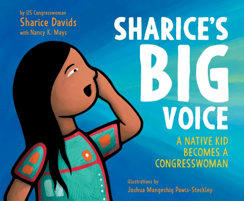 """The cover of """"Sharice's Big Voice."""""""