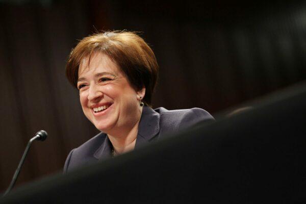 US Supreme Court Justice Elena Kagan.