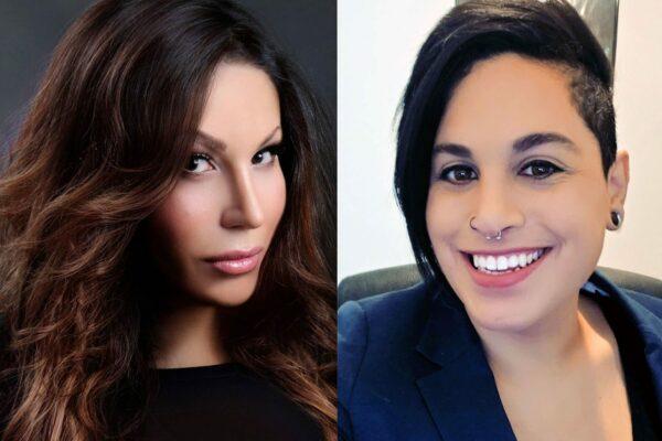 Side-by-side of (L) Anya Marino and Alejandra Caraballo.